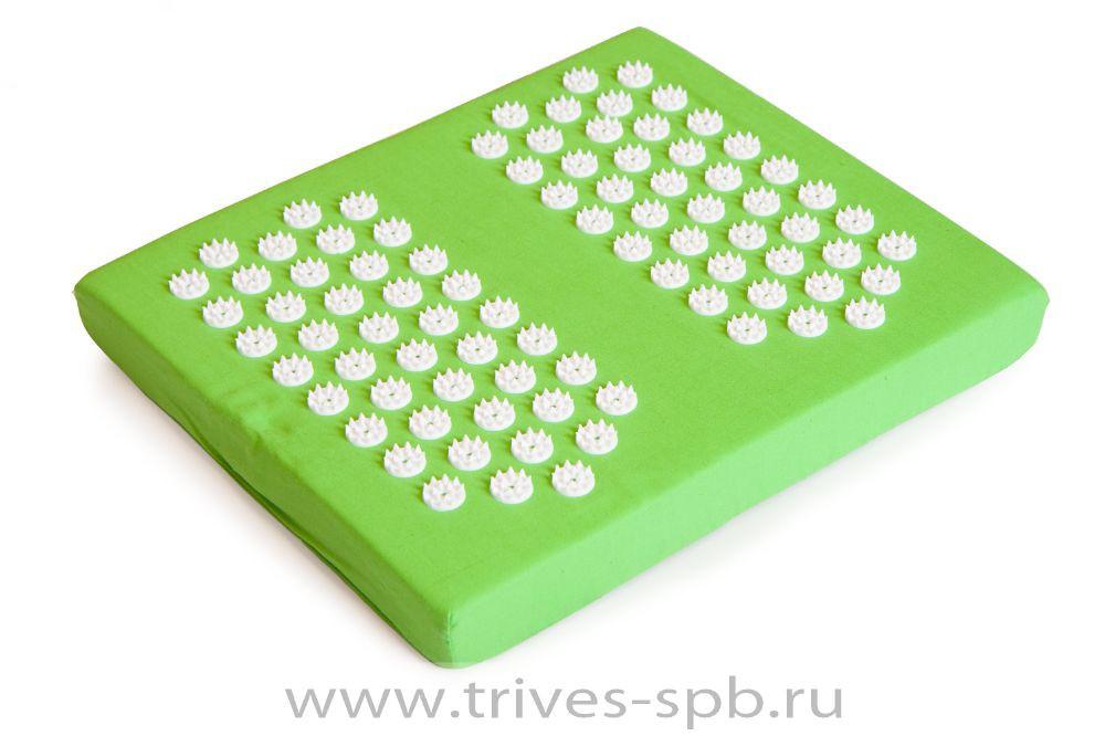 Аппликаторы  Акупунктурный массажный коврик в виде ступней М-704 ИП Толстова